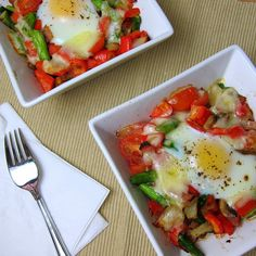 The Breakfast Veggie Bake Surprise is a great way to start your day off right with a healthy breakfast full of vegetables and protein.