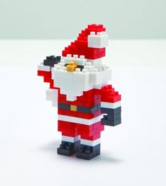 3D Printed Lookalike Giant LEGO Santa Claus Father Christmas Figure Character