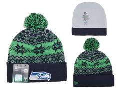 ca29a8c35 NFL SEATTLE SEAHAWKS BEANIES Sport New Era Knit Hats Caps 13