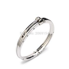 Metal Bracelet For Men Charm Jewelry Silver Bangle 2017 New Design Stainless Steel Link Chain Fashion Brand For Gift Black Color