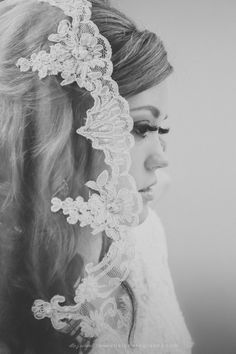 love her lace veil Bridal Headdress, Wedding Stuff, Wedding Ideas, Lace Veils, 2014 Trends, Special Day, Just In Case, Phoenix, Photos