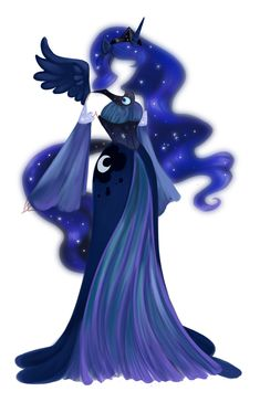 wonderful representation of princess luna