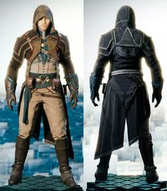 Assassin's Creed Unity's Arno Dorian in the McFarlane Master Assassin outfit. Based on the figurine made by McFarlane Toys. Assassins Creed Series, Assassins Creed Unity, Sans Culottes, Cry Of Fear, Arno Dorian, Culottes Outfit, Infamous Second Son, Edwards Kenway, Todd Mcfarlane