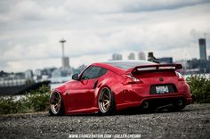 Stanced Bagged Nissan 370Z-4
