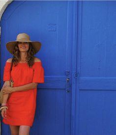 Stana Katic Kate Beckett, Stana Katic, Heidi Klum, Going Out, Casual, Blue, Beauty, Dresses, Castle Abc