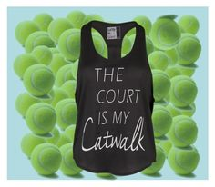 """The Court Is Your Catwalk"" by tennisexpress on Polyvore"