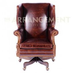 Big Hoss Wingback Desk Chair