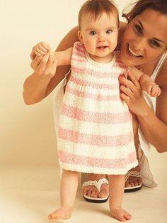 Kız Bebeklere Örgü Elbise Modelleri 40 - Mimuu.com
