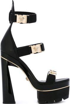 Versace-Medusa-tri-strap-platform-sandals-black