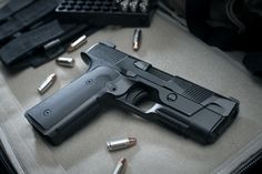 Hudson H9 - Classic 1911 styling, Glock style striker fired firearm. Almost no recoil in 9mm!