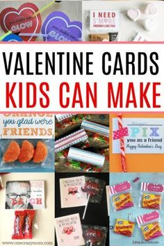 You will love making these easy kids valentines cards. 15 homemade Valentines cards for kids that are so fun. Easy homemade Valentines for kids the class will love. Valentine Cards To Make, Homemade Valentines, Valentine Box, Valentines For Kids, Valentine Day Crafts, Valentine Ideas, Diy Projects For Kids, Easy Crafts For Kids, Art Projects
