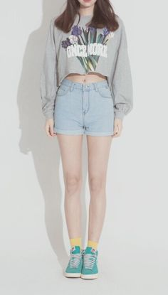 Image via we heart it korean fashion summer, korean summer, Korean Fashion Winter, Korean Fashion Trends, Korean Street Fashion, Korea Fashion, Asian Fashion, Daily Fashion, Fashion Ideas, Style Fashion, Looks Instagram