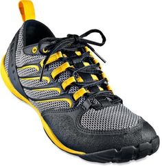 Merrell Trail Glove Cross-Training Shoes - Men's - Because you need some good footwear to work off all the food you eat all winter long. Best Trail Running Shoes, Hiking Shoes, Running Gear, Running Outfits, Trail Shoes, Barefoot Running, Minimalist Shoes, Cross Training Shoes, Merrell Shoes
