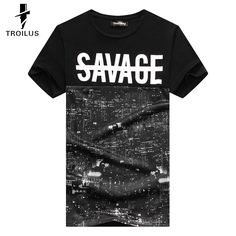 Find More T-Shirts Information about Troilus 2016 New Fashion Men T shirt SAVAGE Print Hip Hop Mesh Beautiful Night City Buildings Tshirt Thenthere Brand Tops tees,High Quality top 10 skate shoe brands,China tee shirt super man Suppliers, Cheap top 5 bluetooth car kit from Troilus Flagship Store on Aliexpress.com