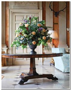 Ditchley in Flower Magazine, photo Charlotte Moss