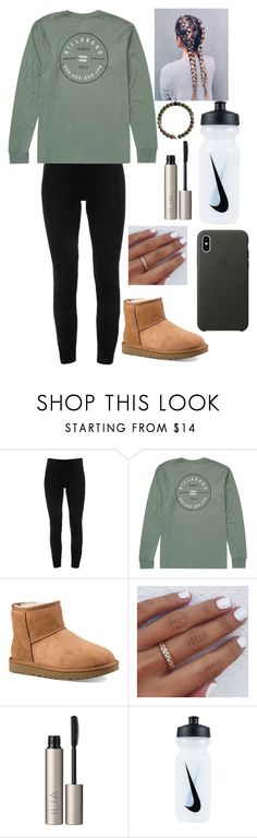 """Chill school outfit"" by lagr on Polyvore featuring Elie Tahari, Billabong, UGG, Ilia, NIKE and Apple"
