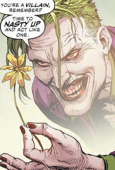 Joker Comic, Joker Pics, Joker Art, Comic Art, The Man Who Laughs, Batman Comics, Batman Batman, Joker And Harley Quinn, Comic Book Characters