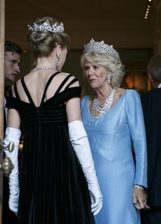 Camilla Parker Bowles Photos - The Prince Of Wales & Duchess Of Cornwall Attend The Duke Of Wellington's Waterloo Banquet - Zimbio