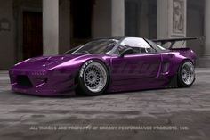 Rocket Bunny Acura NSX 1990-05 Full Rocket Bunny NSX Wide-Body Aero Kit