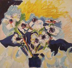 Mary Abbott:  Heurte Bise, Oil on canvas