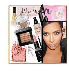 """Kim Kardashian (make-up)"" by ruchirich ❤ liked on Polyvore featuring beauty, Bobbi Brown Cosmetics, Tom Ford, INIKA, Gucci, Smashbox, Urban Decay, Fresh, WALL and makeup"