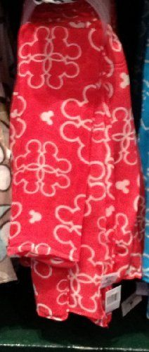 Disney Park Exclusive Mickey Mouse Red Pattern Scarf by Disney. $28.56. This is a Disney Park exclusive Mickey Mouse fashion scarf.  Made of rayon.  Approx. 60 inches.   Brand new with tags.