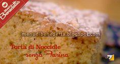 Torta di Nocciole Senza Glutine di Benedetta Parodi