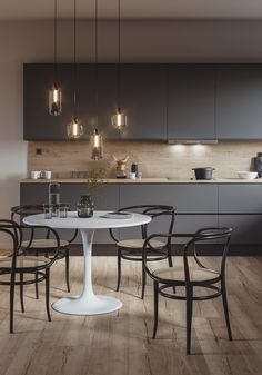 Top 10 Luxury Kitchen Ideas Probably everyone would love to have luxury kitchen at some point of their lives. If you currently feeling like that, you are at the great place! Check our top 10 luxury kitchen ideas. Kitchen Room Design, Kitchen Cabinet Design, Modern Kitchen Design, Kitchen Layout, Home Decor Kitchen, Interior Design Kitchen, Kitchen Furniture, New Kitchen, Kitchen Grey