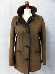 Women's Sheepskin Coat Size 10 AR4697 in Clothes, Shoes & Accessories, Women's Clothing, Coats & Jackets | eBay