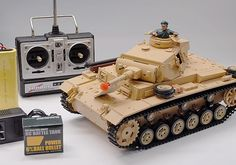 Tauch Panzer III RC Battle Tank w/Sound & Smoke $109.99 http://hobbyzobby.com/product/tauch-panzer-iii-rc-battle-tank-sound-smoke