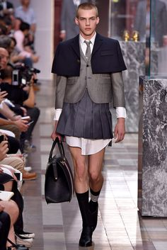 Thom Browne Paris Menswear Spring Summer 2018 Paris June 2017- foto: Agencia Fotosite