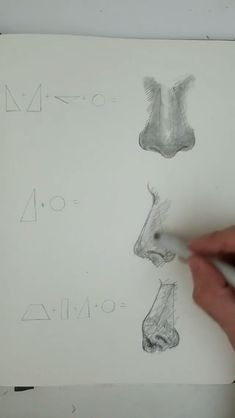 How to Draw Nose by Ronald Restituyo! How to Draw Nose by Ronald Restituyo! How to Draw Nose by Ronald Restituyo! Cool Art Drawings, Pencil Art Drawings, Art Drawings Sketches, Easy Drawings, Winter Drawings, Interesting Drawings, Sketch Drawing, Art Illustrations, Sketching