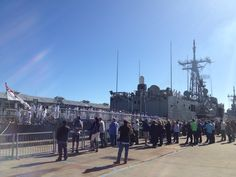 Sending off HMAS Newcastle