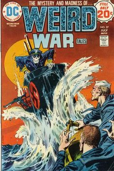 Five Great War Covers, by JUSTIN GRAY