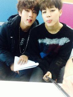 BTS   JIN and JIMIN