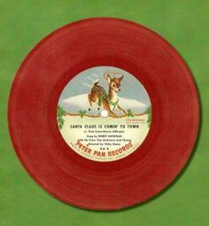 I remember these.loved the yellow and red vinyl kiddie records! I still have some of my childhood records!