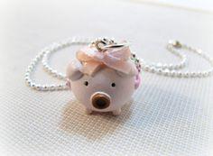 This Little Piggy Necklace....