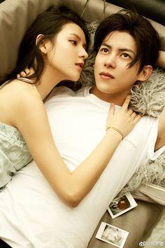 zhang yuxi and kenji chen Beautiful Love, Beautiful Couple, Couples Modeling, Girly M, Stylish Couple, Korean Couple, Ulzzang Couple, Fashion Couple, Handsome Actors