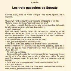 Trois passoires de Socrate