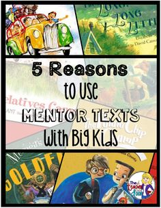 Read about how mentor texts can be an amazing, versatile tool to use in the classroom to help teach any concept across the curriculum.