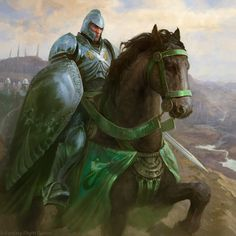 ArtStation - Manderly Knight, Antonio J. Manzanedo