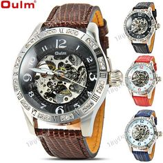 http://www.tinydeal.com/it/oulm-3143-self-winding-skeleton-mechanical-watch-p-114108.html  (OULM) 3143 Automatic Mechanical Watch Skeleton Watch Analog Watch