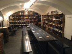 Tribaun Bar Innsbruck Innsbruck, Beer Bar, Wine And Beer, Coffee Cafe, Bookcase, Shelves, Home Decor, Kaffee, Shelving