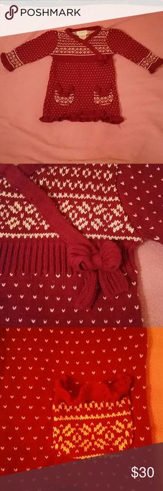 Infant Holiday Sweater Dress So Sweet and Snuggly -Holiday Sweater Dress Savannah Dresses Casual