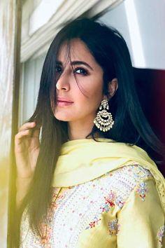 Katrina Kaif looks gorgeous in yellow at Anurag Basu's Saraswati Puja; Indian Celebrities, Bollywood Celebrities, Bollywood Fashion, Beautiful Celebrities, Bollywood Actress, Bollywood Girls, Bollywood Stars, Beautiful Actresses, Beautiful People