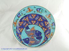 Elit Handicraft - SU010002 Sitki II Balik Desenli Cini Tabak