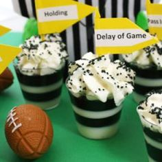 referee jello shot, this also links you to the Top 10 football themed Jello shots