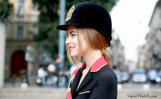 #chiaraferragni #milan #blondsalad #hat #uniform #chapeau #fashion #women #style #look #outfit #streetfashion #streetstyle #street #women #mode #moda by #sophiemhabille