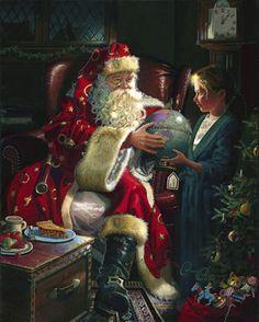 Dean Morrisey / The O'Raven Chronicles!: Father Christmas, Saint Nicholas, and the Christmas Spirit.