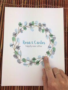 Botanical Wedding, Floral Wedding, Wedding White, Fun Crafts, Gift Crafts, Amazing Crafts, Wedding Painting, Wreath Drawing, Wedding Venues